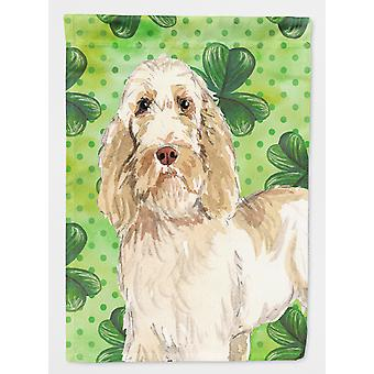 Carolines Treasures  CK1786GF Shamrocks Spinone Italiano Flag Garden Size