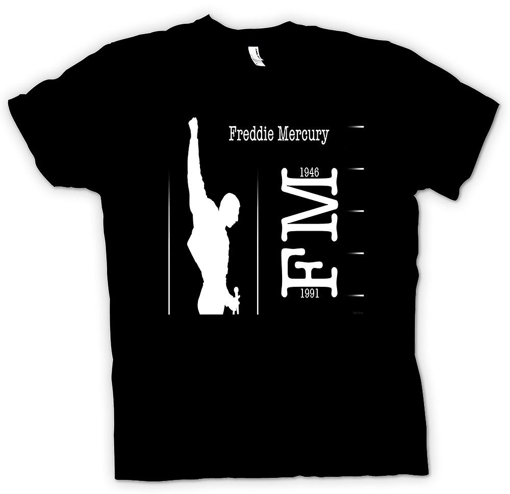 Kids t-shirt - Freddie Mercury Queen - FM 91 46
