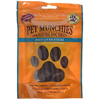 Pet Munchies Dog Chew Treat Beef Liver Stick, 90 g