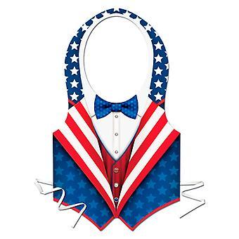 Kunststoff-USA patriotische Weste