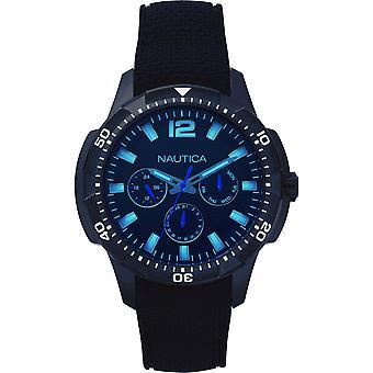 Nautica mens watch wristwatch NAPSDG003 silicone