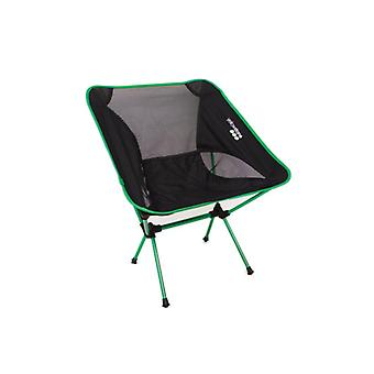 Yellowstone Lightweight Chair Green Frame / Black Top