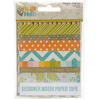 You Are Here! Washi Paper Tape 3