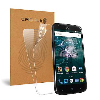 Celicious Vivid Invisible Glossy HD Screen Protector Film Compatible with ZTE Warp 7 [Pack of 2]