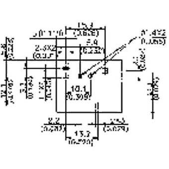 Song Chuan 822E-1A 12 Automotive relay 12 Vdc 40 A 1 maker