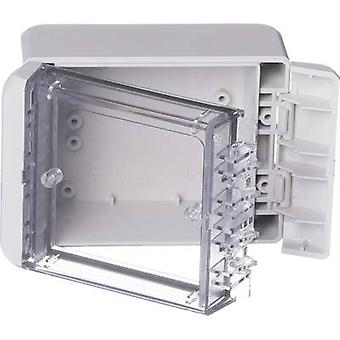 Bopla Bocube B 100806 PC-V0-G-7035 Wall-mount enclosure, Build-in casing 80 x 113 x 60 Polycarbonate (PC) Light grey (RAL 7035) 1 pc(s)