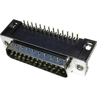 MH Connectors MHDD15-M-T-B-S-RBM D-SUB pin strip 90 ° Number of pins: 15 Soldering 1 pc(s)