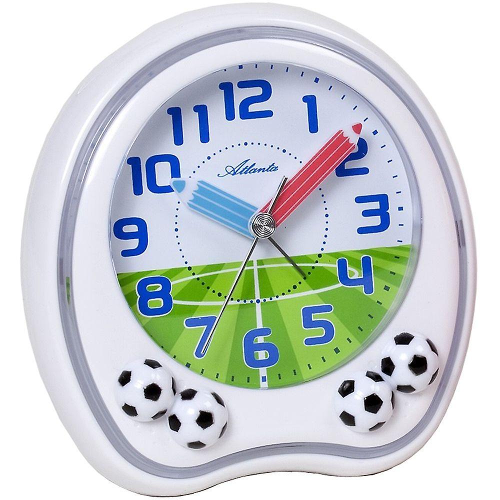 1719 Enfants Football Réveil Soccer réveil Les Blanc Pour Radio Atlanta 0f c1JTFKl