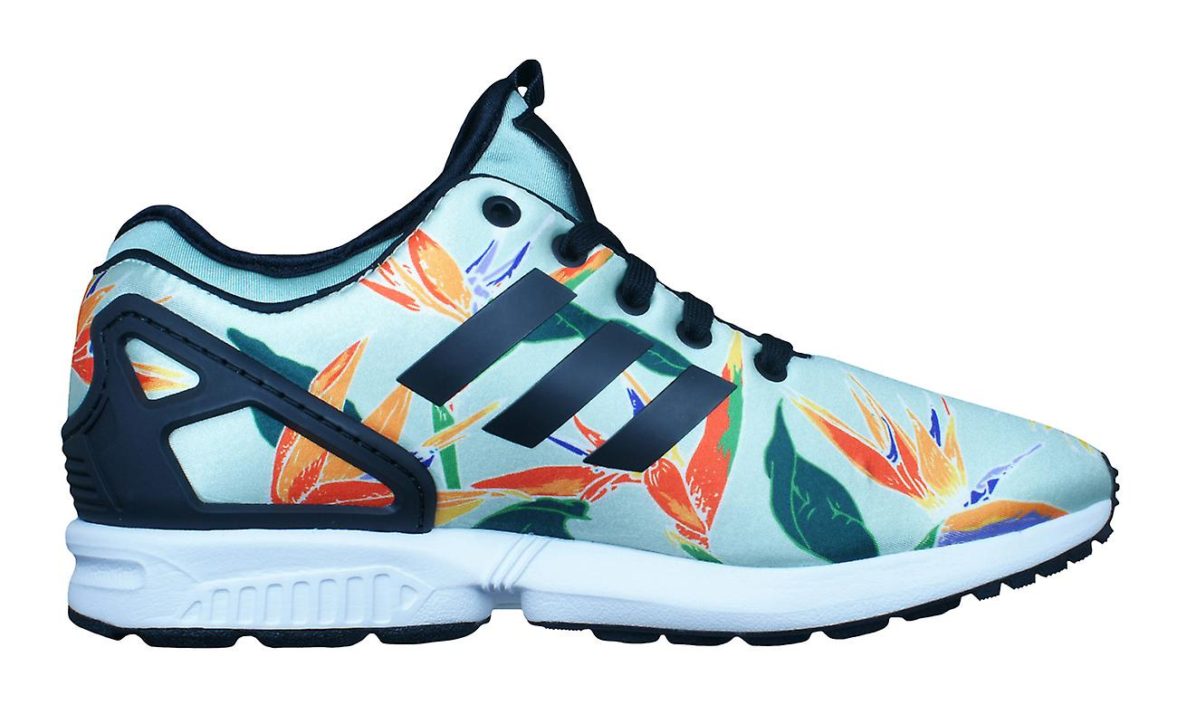 adidas Original ZX Shoes Flux NPS Mens Trainers / Shoes ZX - Green b05c1a