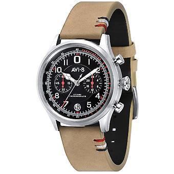AVI-8 Fly Boy Watch - Beige/Black