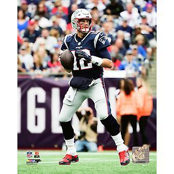 Tom Brady 2018 Action Photo Print