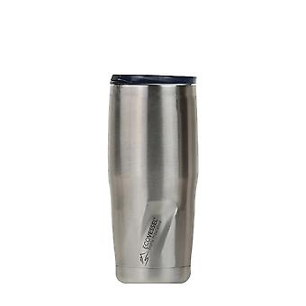 EcoVessel EcoVessel METRO TriMax Insulated Stainless Steel Tumbler - Silver Express Brushed 24 oz