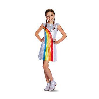K3 Rainbow Kleid Kleid 9-11 Jahre