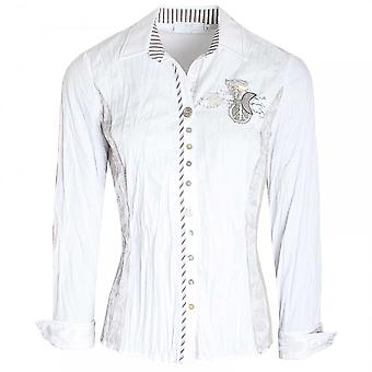 Just White Assorted Button Long Sleeve Fitted Shirt