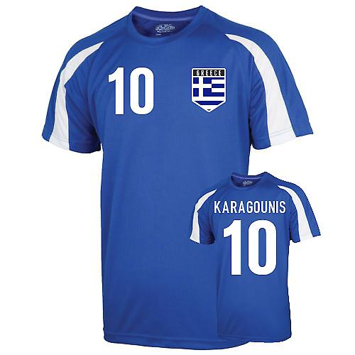 Greece Sports Training Jersey (karagounis 10) - Kids