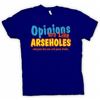 Kids T-shirt - Opinions Are Like Arseholes, Everyone Has One And Yours Stinks