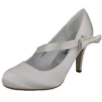 Ladies Anne Michelle Wedding Court Shoe - L2995