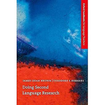 Fazendo a segunda pesquisa de linguagem (Oxford manuais para professores de línguas)