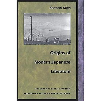 Origens da literatura japonesa moderna (intervenções pós-contemporâneas)