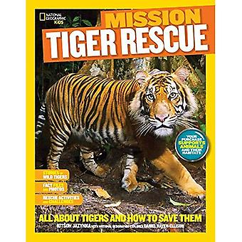 National Geographic Kids Mission : Tiger Rescue (Ng enfants Mission : secourir les animaux)