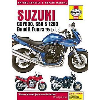 Suzuki GSF600, 650 & 1200 Bandit Fours Motorcycle Repair Manual