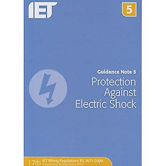 Guidance Note 5: Protection Against Electric Shock (Electrical Regulations)