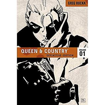 Queen & Country, The Definitive Edition: Definitive Edition v. 1 (Queen and Country (Graphic Novels))