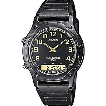 Casio Männer Analog Digital Quarz mit Harz Band AW-49H-1BVEF