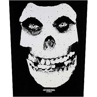 The Misfits Skull large sew-on back patch (rz)