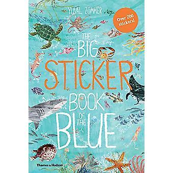 Le livre de gros autocollant bleu par le livre de gros autocollant bleu