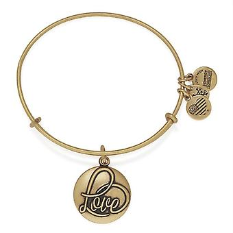 Alex et Ani Love III or bracelet A16EBLRG