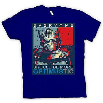 Kinder T-shirt-Transformers Optimus Primus Optimustic