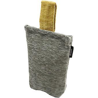 McAlister textilier Alston chenille grå + gul dörrs topp
