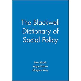 قاموس بلاكويل للسياسة الاجتماعية ببيت الكوك-ارسك انغس