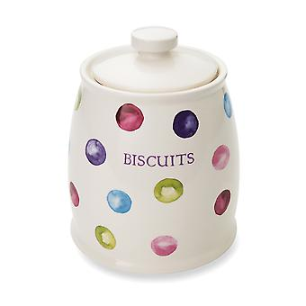 Cooksmart Spotty Dotty Biscuit Canister