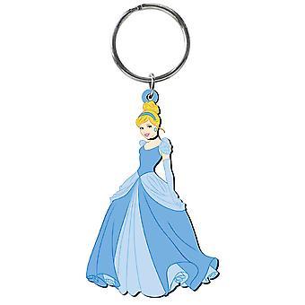 PVC Key Chain - Disney - Princess - Cinderella Soft Touch New Toys 23736