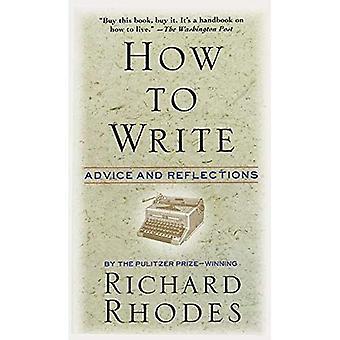 Come scrivere: Consigli e riflessioni