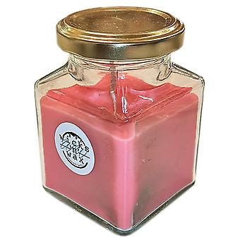Young Enterprise välgörenhets organisation Wicks ' n ' Wax Candle Rose Red