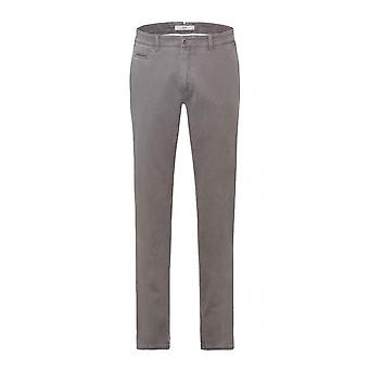 Brax Fabio Cotton Trouser Grey