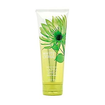 Bath & Body Works White Citrus 24 Hour Moisture Ultra Shea Body Cream 8 oz / 226 ml