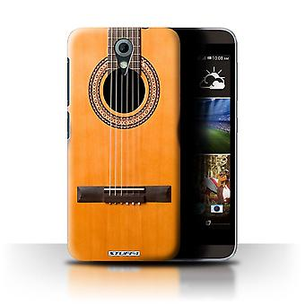 STUFF4 Case/Cover for HTC Desire 820 Mini/Wood/Wooden Acoustic/Guitar