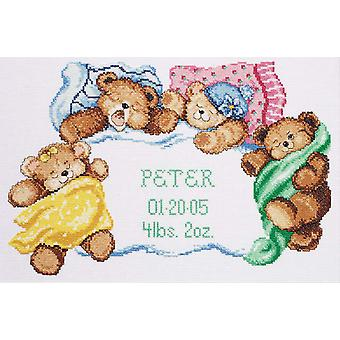 Down For A Nap Counted Cross Stitch Kit 14
