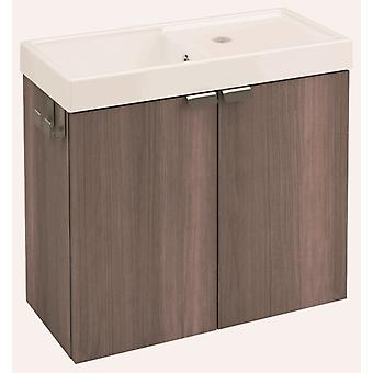 Bath+ Cabinet 2 doors with sink Fresno 50CM