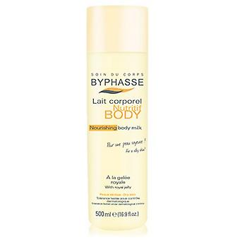 Byphasse Body Milk for dry skin- 500 Ml Royal Jelly Bottle