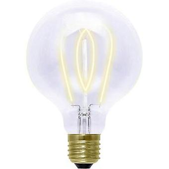 LED (monochrome) Segula 230 V E27 4 W = 15 W Gold EEC: B Globe (Ø x L) 125 mm x 180 mm dimmable, Filament 1 pc(s)