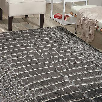 Maxell Rugs Mae09 By Nourison In Charcoal