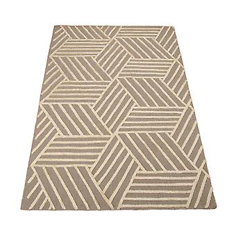 Strata Rugs Stt02 In Silver And Ivory