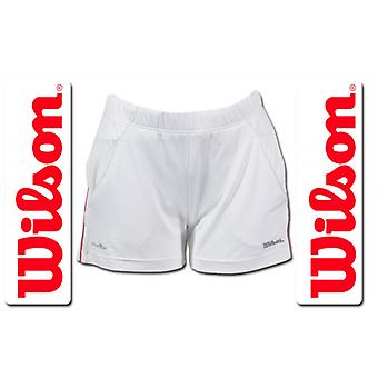 Wilson Women's Performance Short White / Red