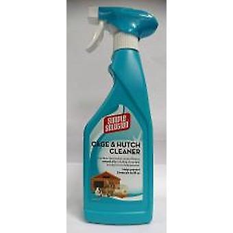 Simpel opklaring bur & Hutch renere 500 ml (pakke med 4)