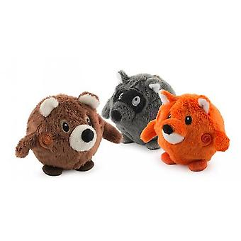 Bouncing Woodland Friends Assorted Display Box Small 7cm (Pack of 12)